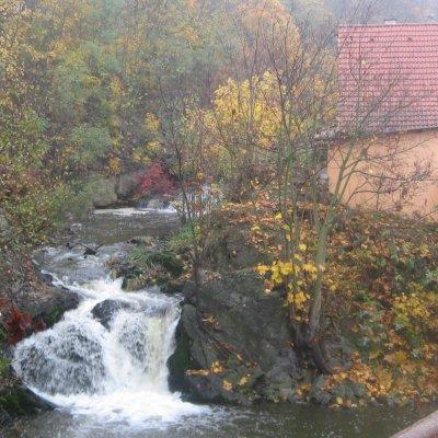 Vodopád Merklín ( 5 km od rozhledny)