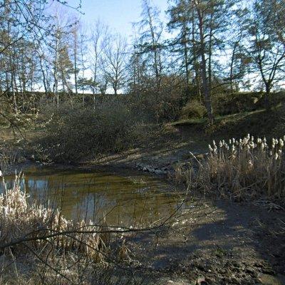 Wágnerův lom (200 m od rozhledny při cestě do Čelákov)